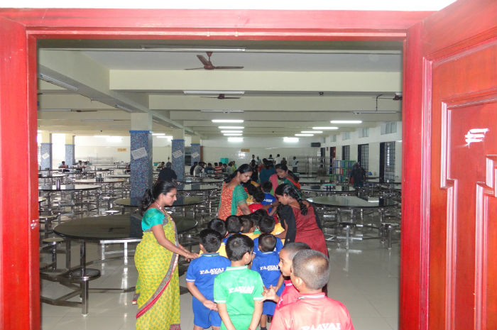 Nursery Students visit to Foodcourt