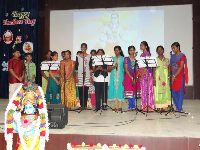 Teachers Day Celebration 2015