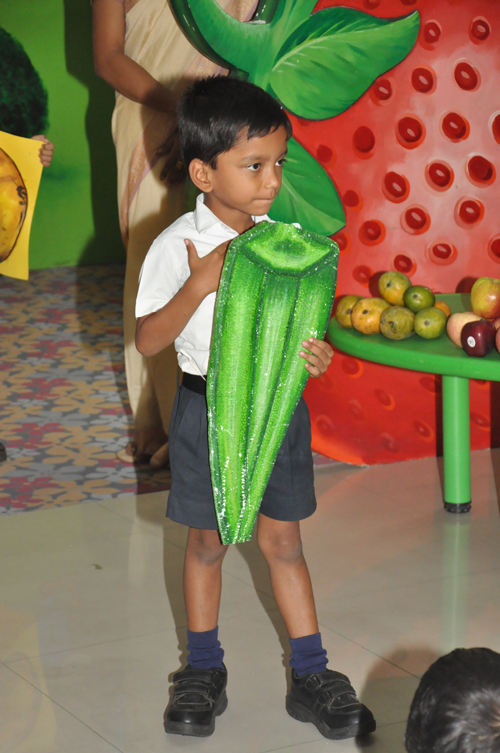 Nursery Fruits and Vegetables Awareness 22.07.16