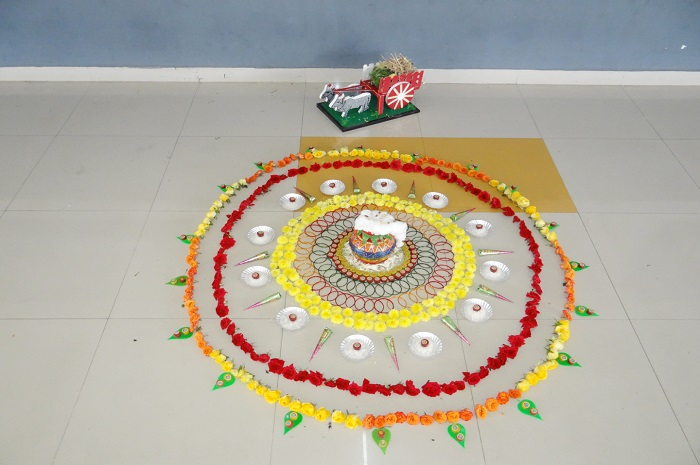 Pongal Celebration Board Work