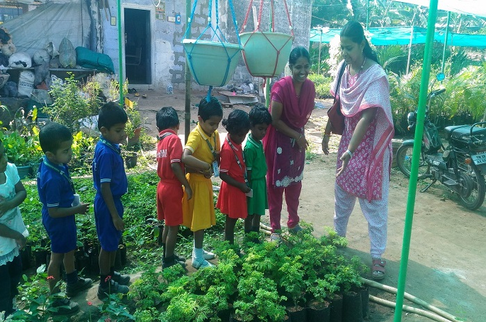 Nursery Visit to Farm