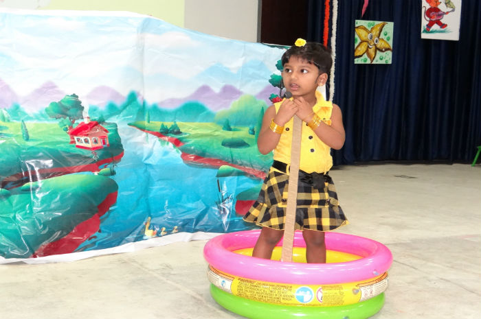 Nursery Rhymes Competition 2016 – Part I