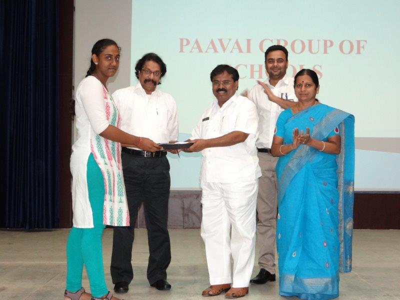 Paavai Excels in IIT-JEE Mains 2017