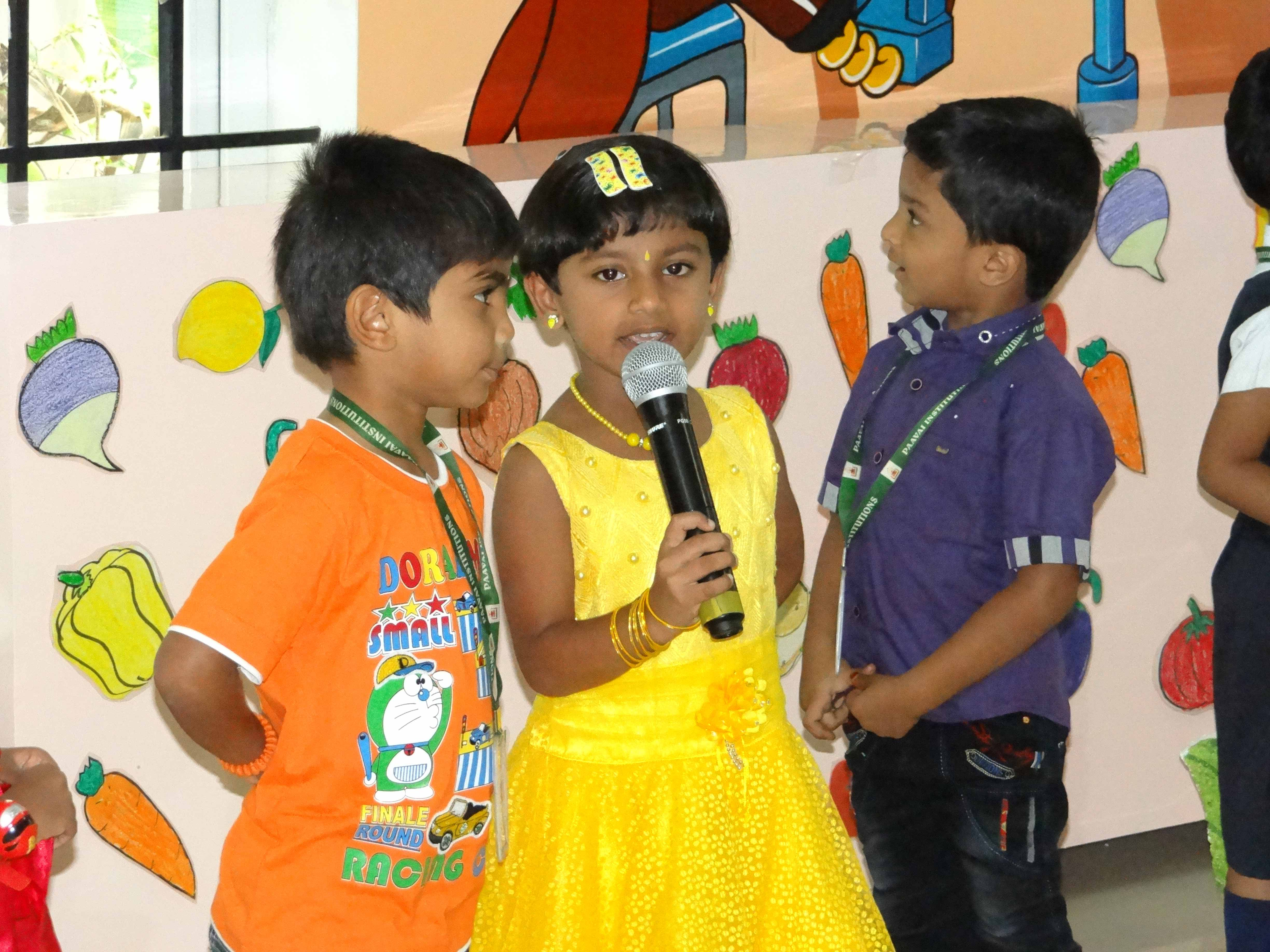 Nursery Fruits and Vegetables Day Celebration