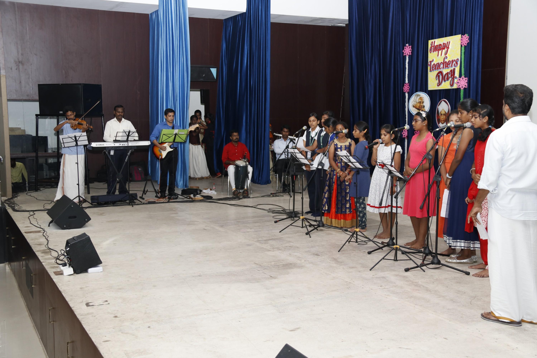 Teachers Day and Onam Celebration