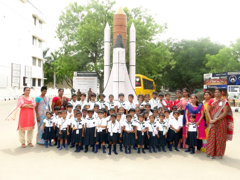 Nursery Children Visit to College Campus