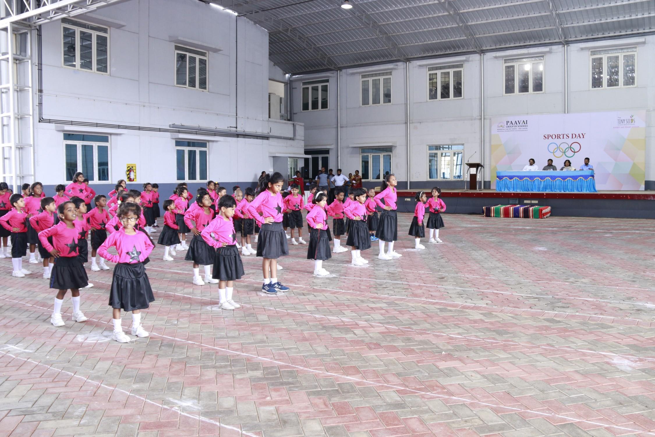 Nursery & Primary Sports Meet 2018