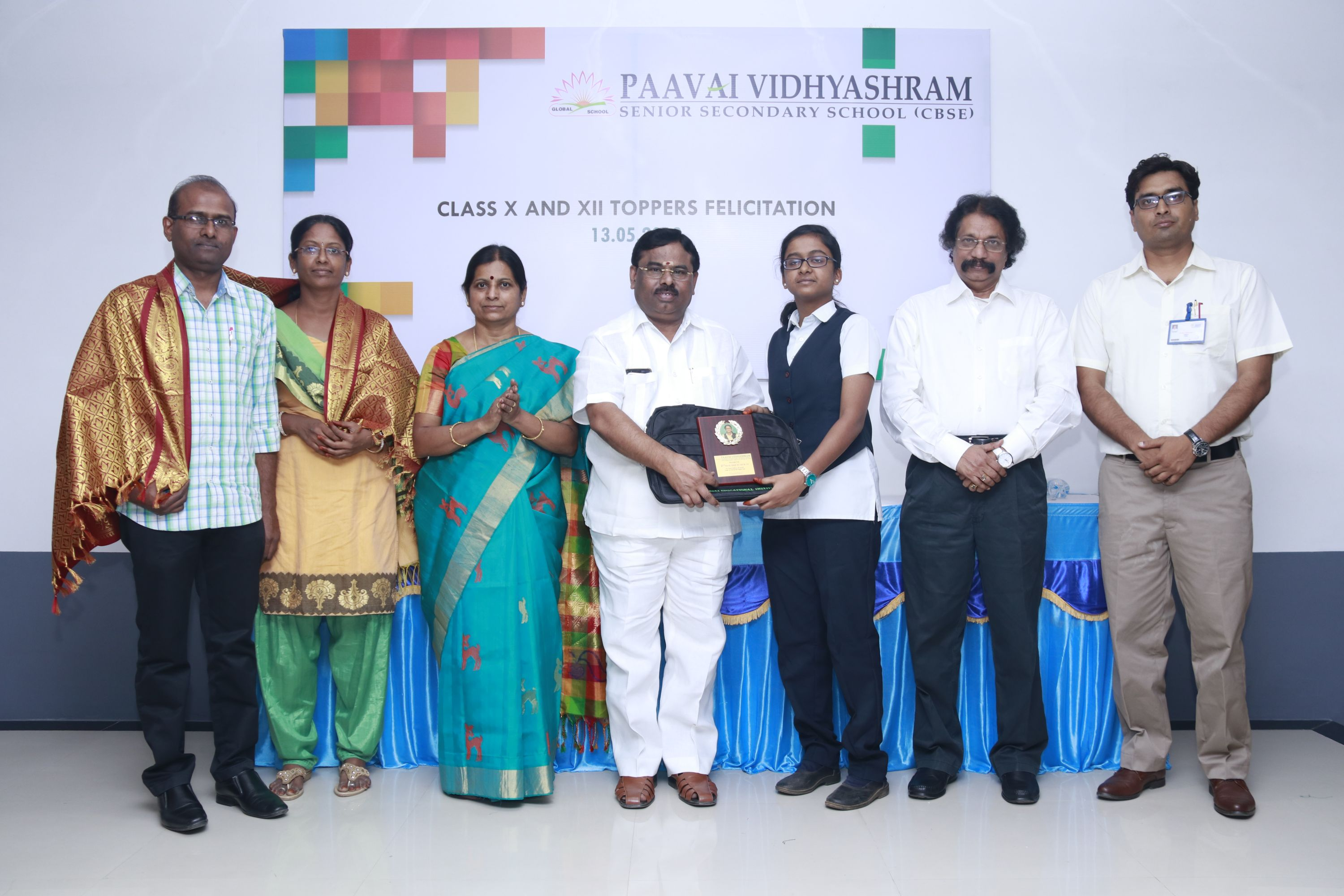 Felicitation of Paavai School Toppers – 2019