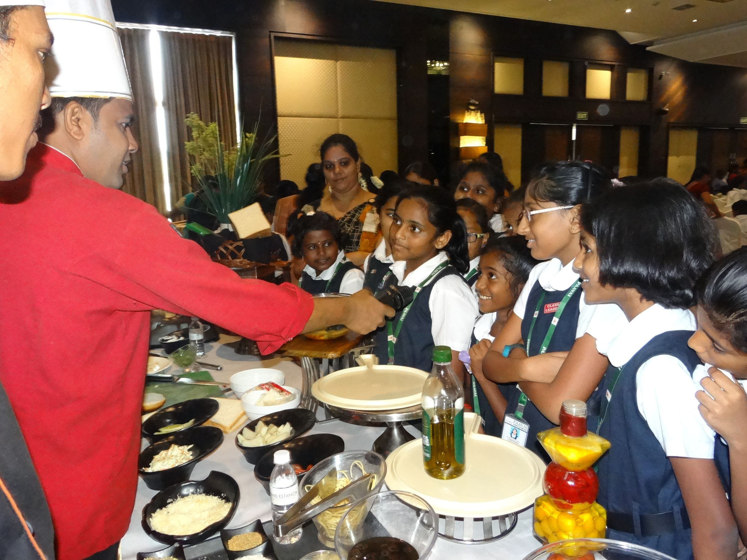 Table Manners and Etiquettes lesson at GRT