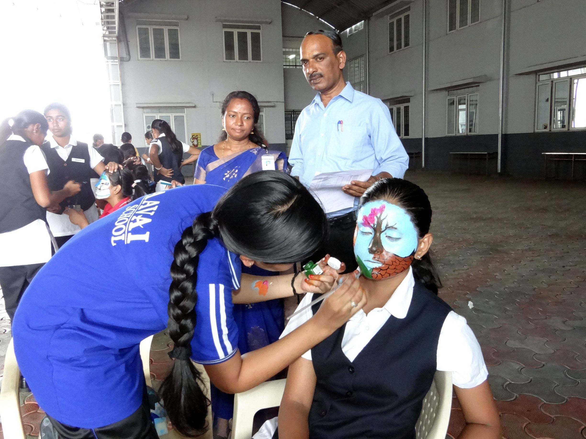 FACE PAINTING COMPETITION