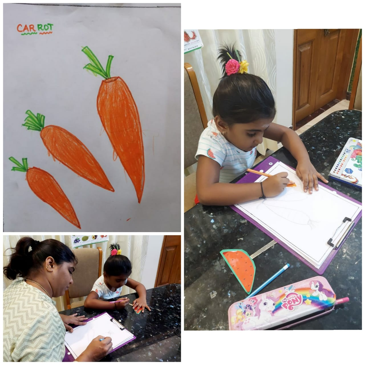 Speech & Coloring Competition – UKG