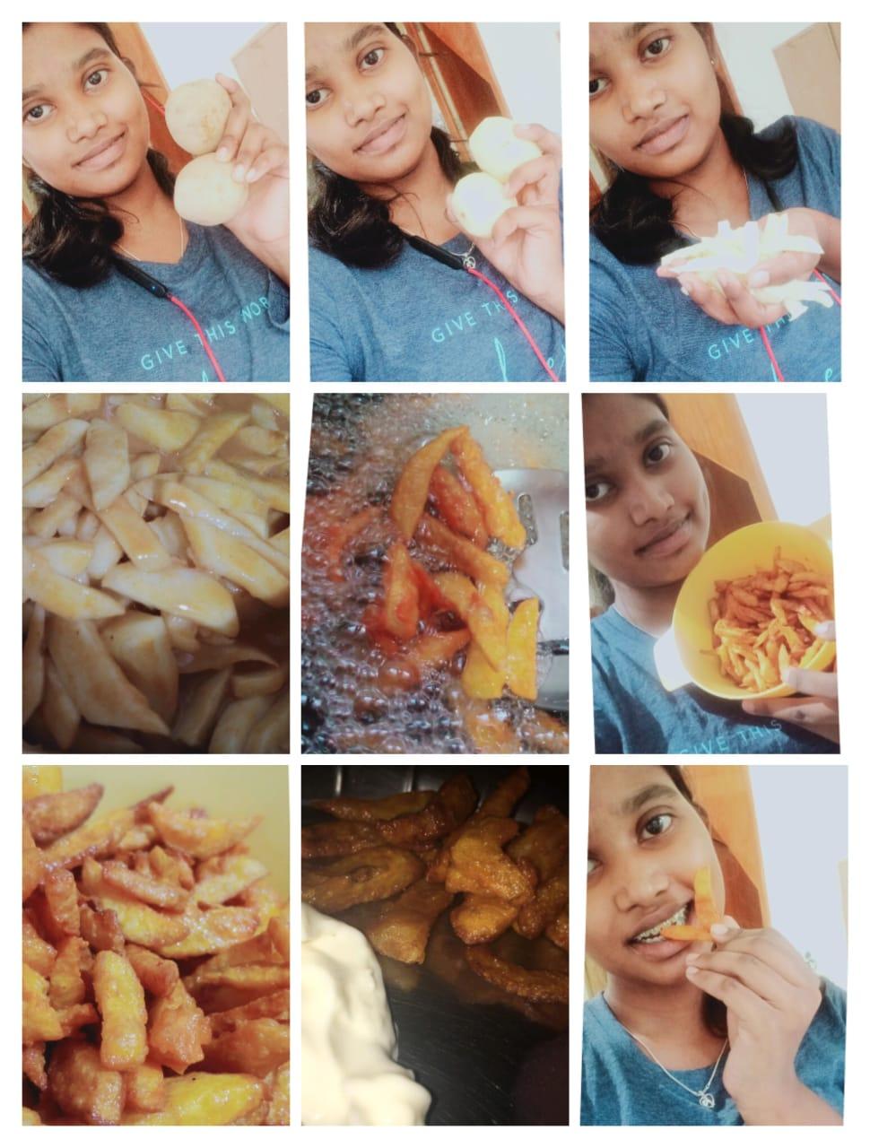 Cook a Dish – Class XI – C