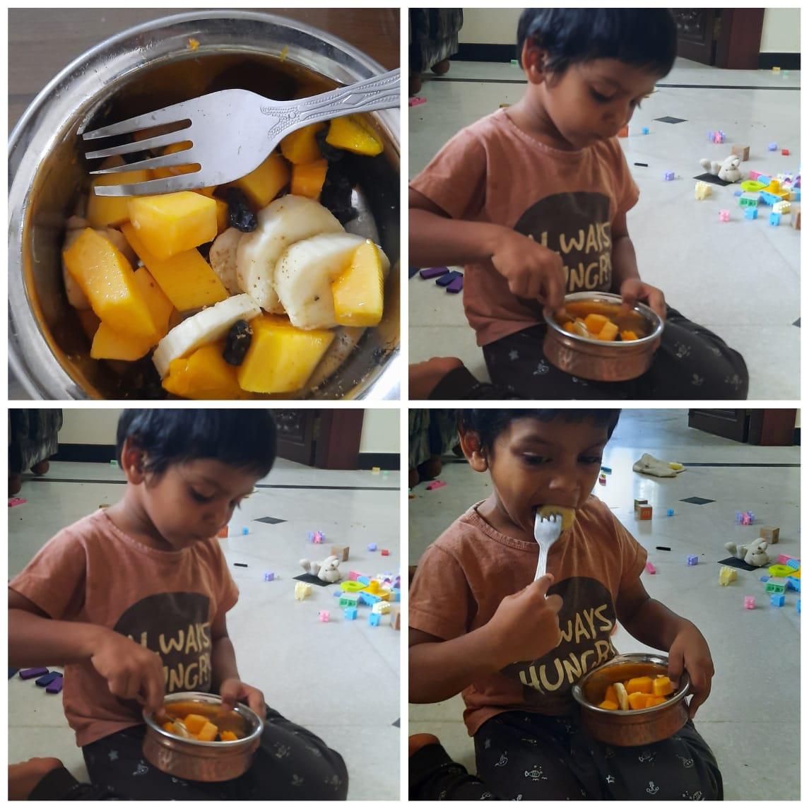 Fruit Salad – Kindergarten (LKG)