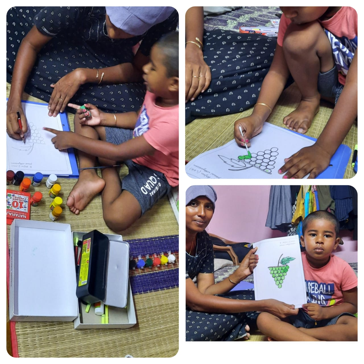 Speech & Coloring Competition – LKG