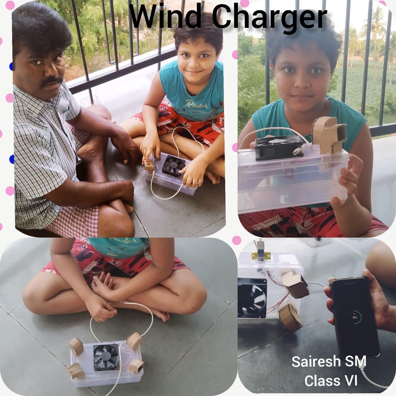 Global Wind Day Class – VI