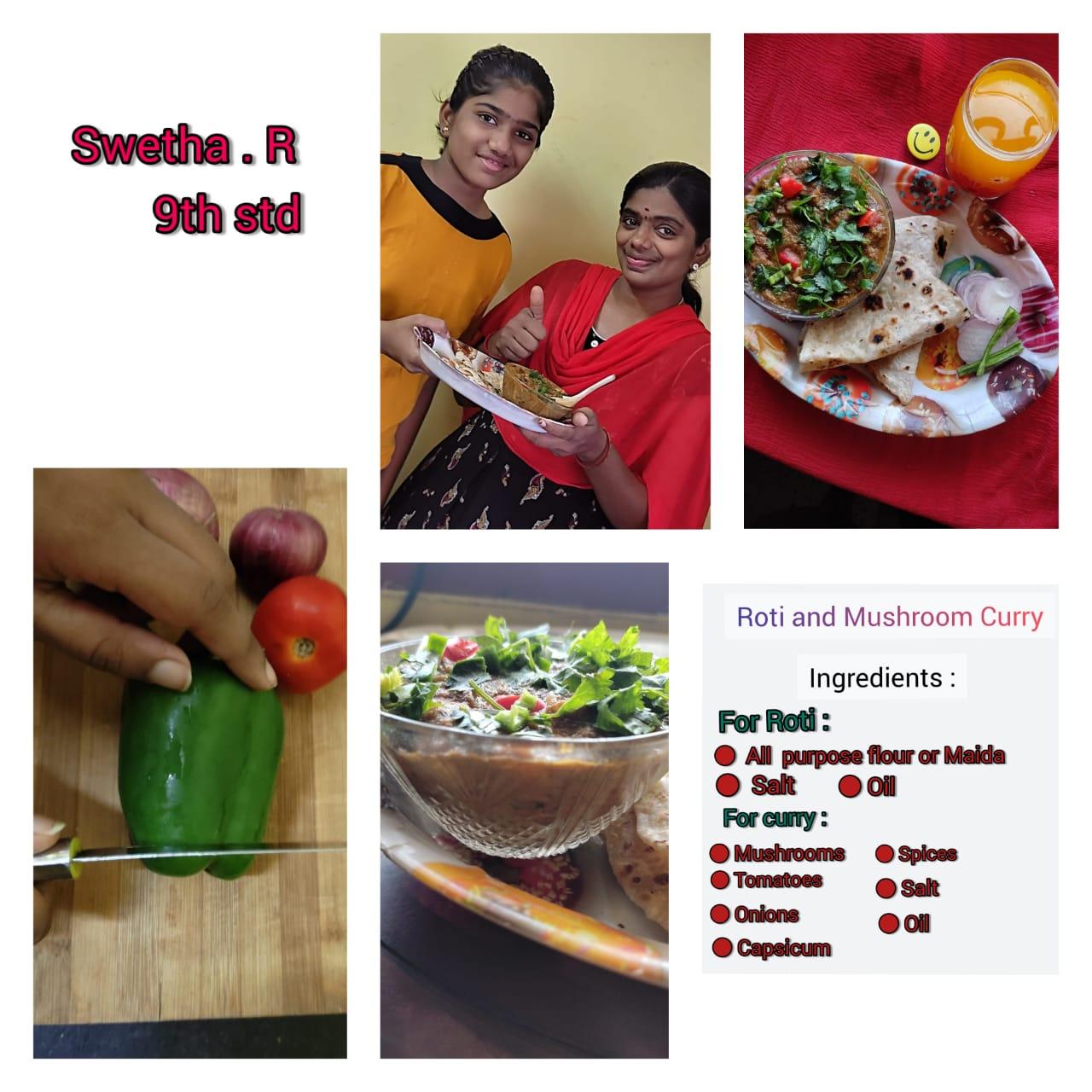 Cook a Dish – Class IX
