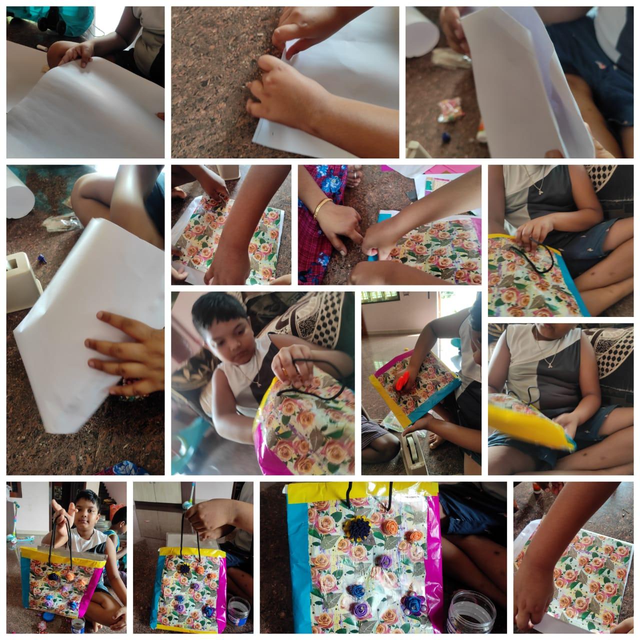 Class IV – Paper Bag